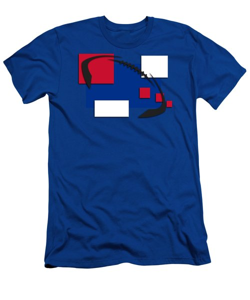 Bills Abstract Shirt Men's T-Shirt (Slim Fit) by Joe Hamilton