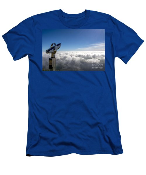 Binoculars In The Clouds. Men's T-Shirt (Athletic Fit)