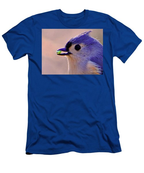 Men's T-Shirt (Slim Fit) featuring the photograph Bird Photography Series Nmb 4 by Elizabeth Coats