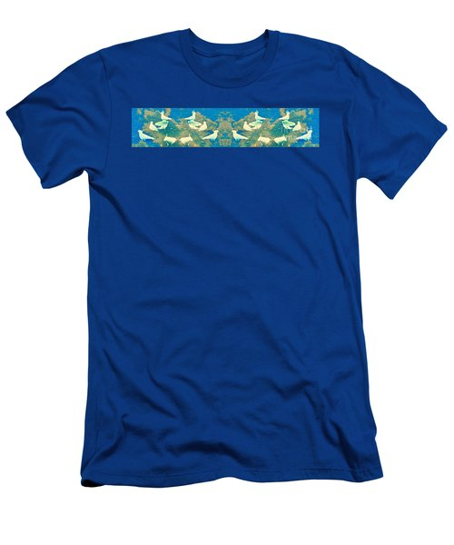 Birds In Paradise Men's T-Shirt (Athletic Fit)