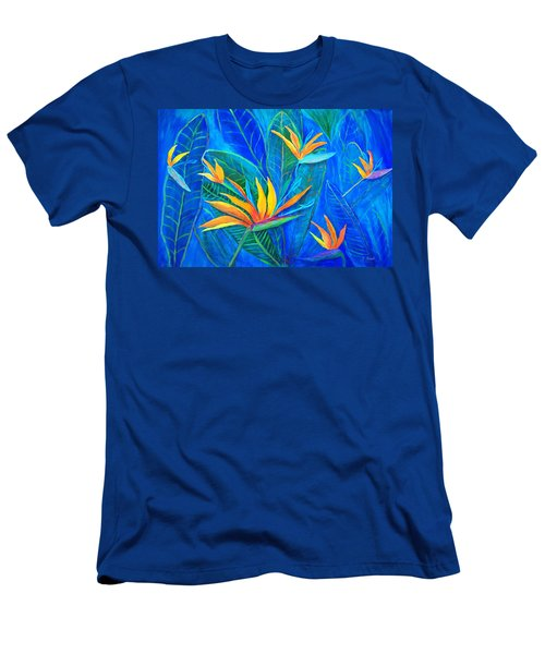 Birds Of Paradise In Florida Men's T-Shirt (Athletic Fit)