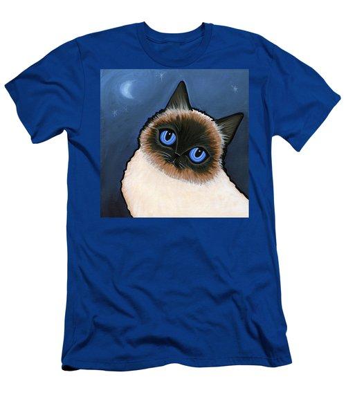 Birman Blue Night Men's T-Shirt (Athletic Fit)
