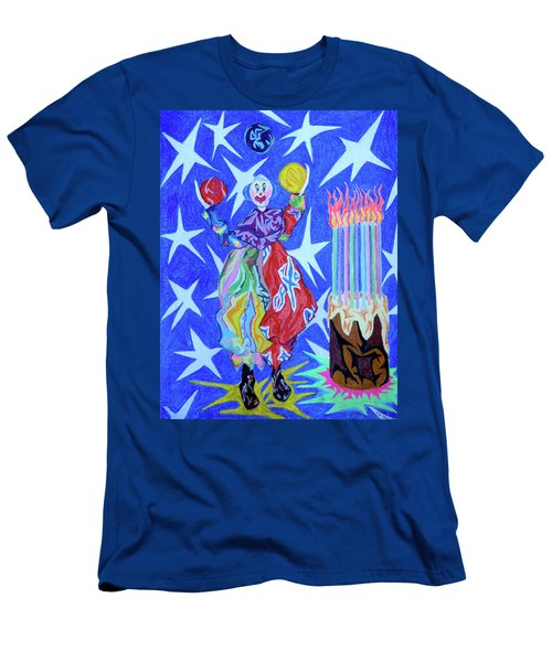 Birthday Clown Men's T-Shirt (Athletic Fit)