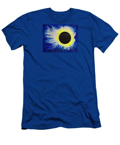 Black Hole Blues Men's T-Shirt (Athletic Fit)
