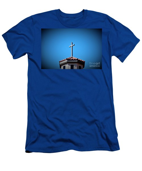 Men's T-Shirt (Slim Fit) featuring the photograph Blessings To Everyone Of All Faiths by Ray Shrewsberry