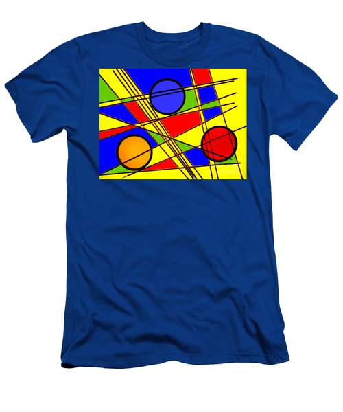 Blocks Of Color Men's T-Shirt (Slim Fit)