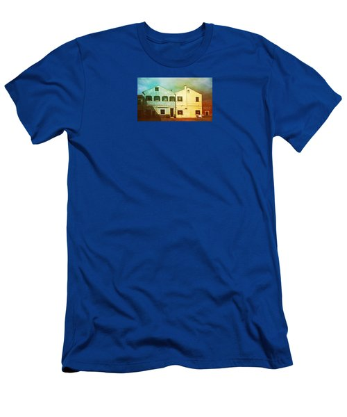 Men's T-Shirt (Slim Fit) featuring the photograph Blowing In The Wind by Anne Kotan