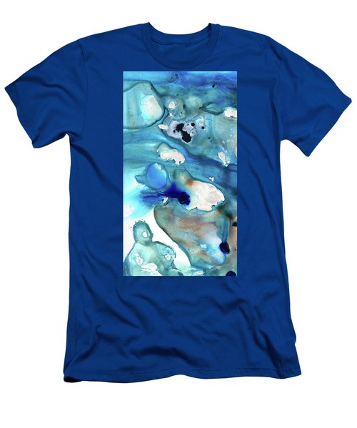 Blue Art - The Meaning Of Life - Sharon Cummings Men's T-Shirt (Athletic Fit)