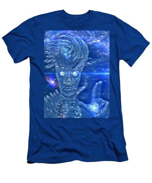 Blue Avian Men's T-Shirt (Athletic Fit)