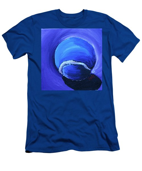 Blue Ball Men's T-Shirt (Athletic Fit)