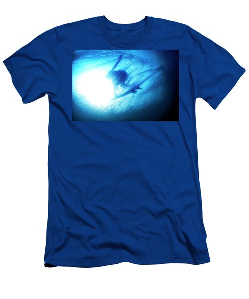 Blue Barrel Men's T-Shirt (Athletic Fit)