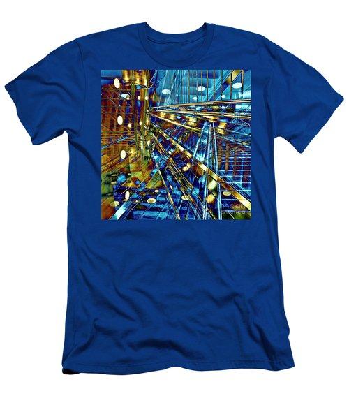 Blue Berlin Sound Men's T-Shirt (Athletic Fit)