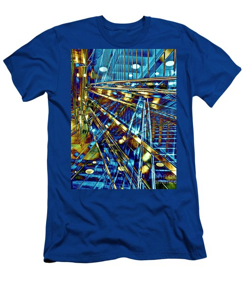 Blue Berlin Sound Men's T-Shirt (Athletic Fit)