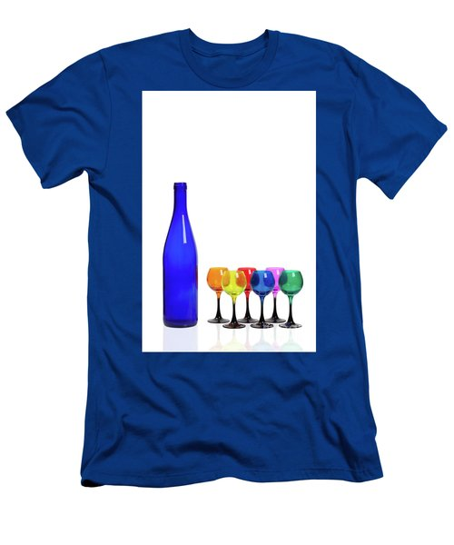 Blue Bottle #2429 Men's T-Shirt (Athletic Fit)