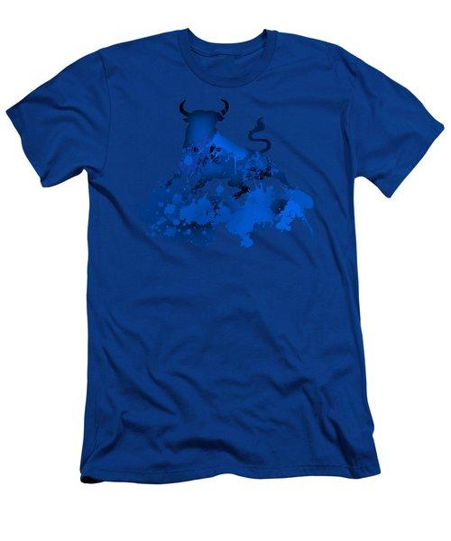 Blue Bull Men's T-Shirt (Athletic Fit)