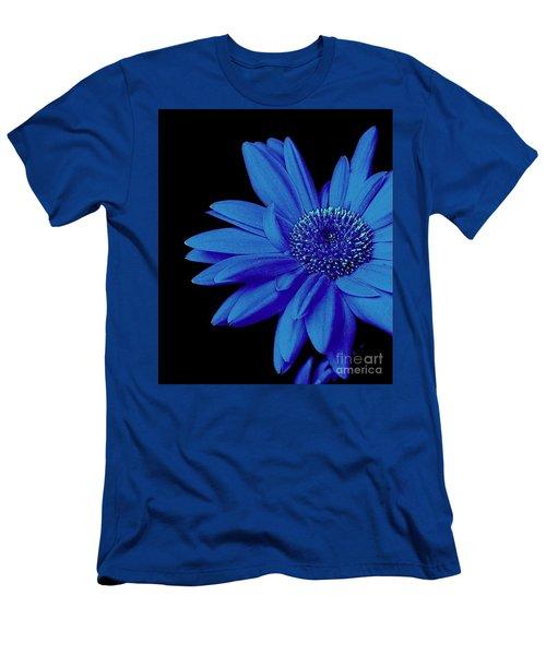 Blue Men's T-Shirt (Slim Fit) by Elfriede Fulda