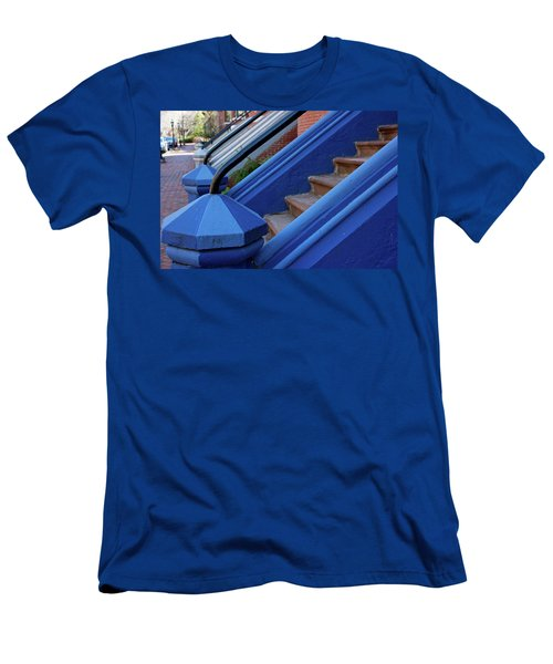 Blue Entry Men's T-Shirt (Athletic Fit)