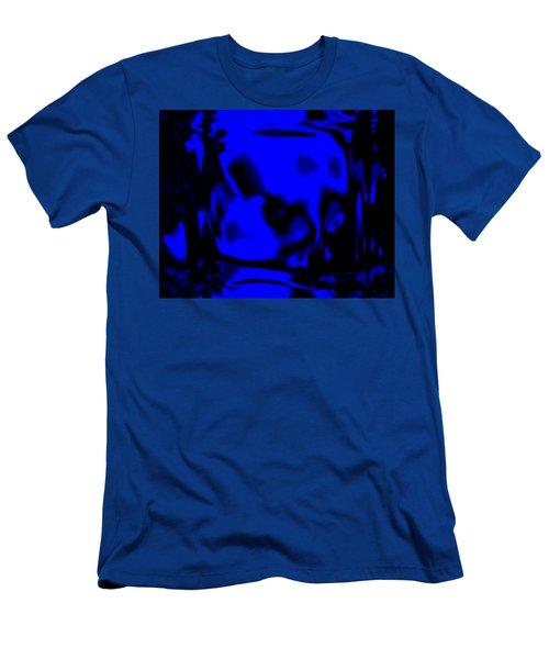 Blue Fashion Men's T-Shirt (Athletic Fit)