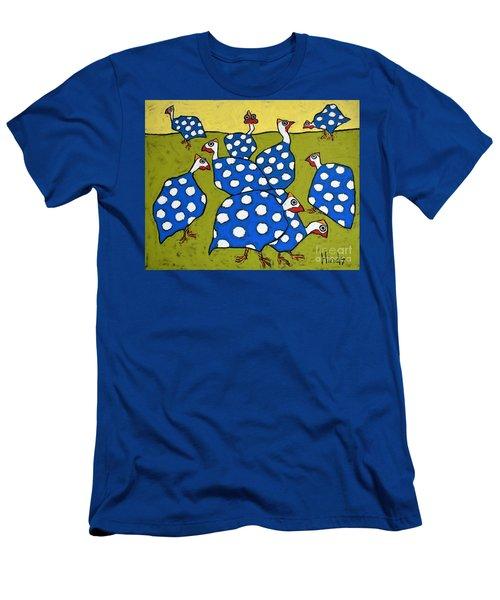 Blue Guineas Men's T-Shirt (Athletic Fit)