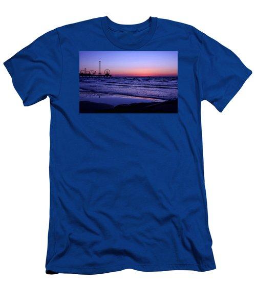 Blue Hour In Galveston Men's T-Shirt (Athletic Fit)