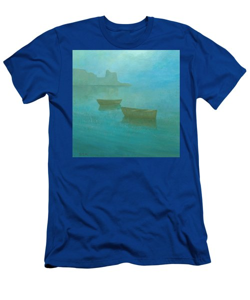Blue Mist At Erbalunga Men's T-Shirt (Athletic Fit)