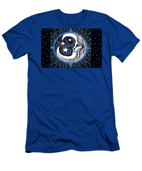 Blue Moon Greeting Card 02 Men's T-Shirt (Athletic Fit)