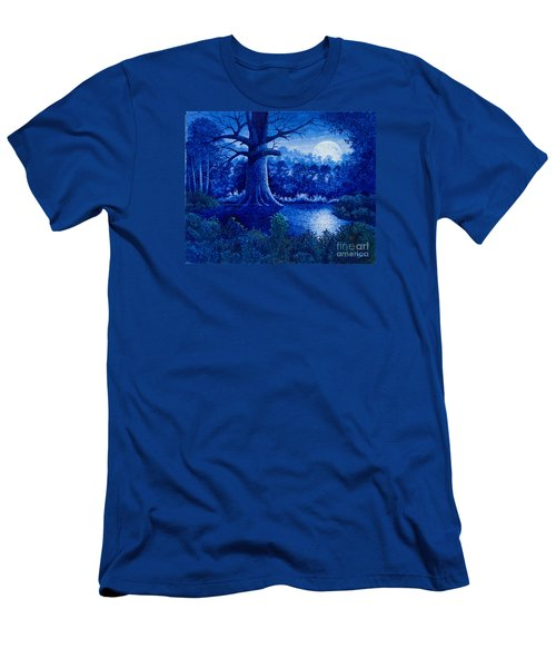 Blue Moon Men's T-Shirt (Athletic Fit)