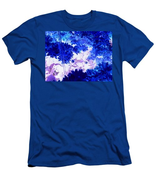Blue Mums And Water Men's T-Shirt (Athletic Fit)