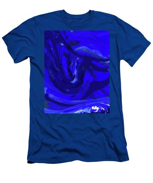 Blue Night 2 Men's T-Shirt (Athletic Fit)
