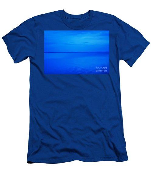 Blue Ocean Twilight Men's T-Shirt (Slim Fit) by Randy Steele