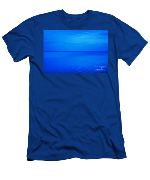 Blue Ocean Twilight Men's T-Shirt (Athletic Fit)
