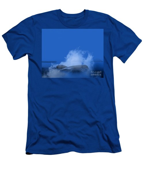 Blue Phi Phi Island Sunrise Men's T-Shirt (Athletic Fit)