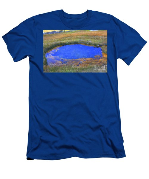 Blue Pool Men's T-Shirt (Athletic Fit)