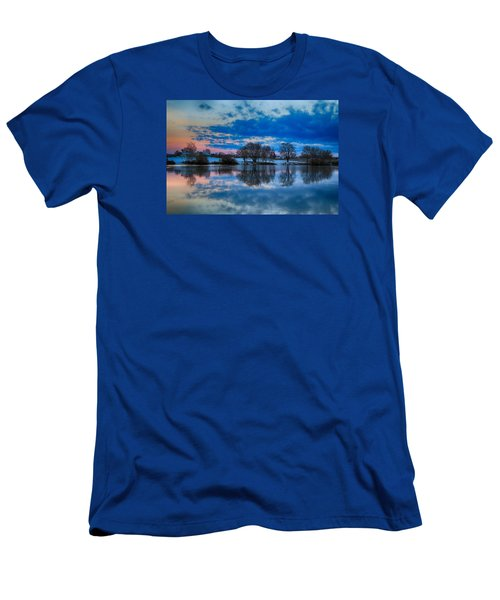 Blue Sky Morning Men's T-Shirt (Athletic Fit)