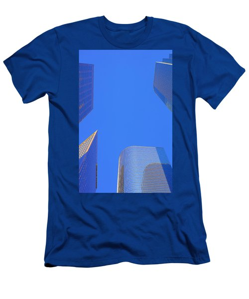 Blue Sky Over Bunker Hill Men's T-Shirt (Athletic Fit)