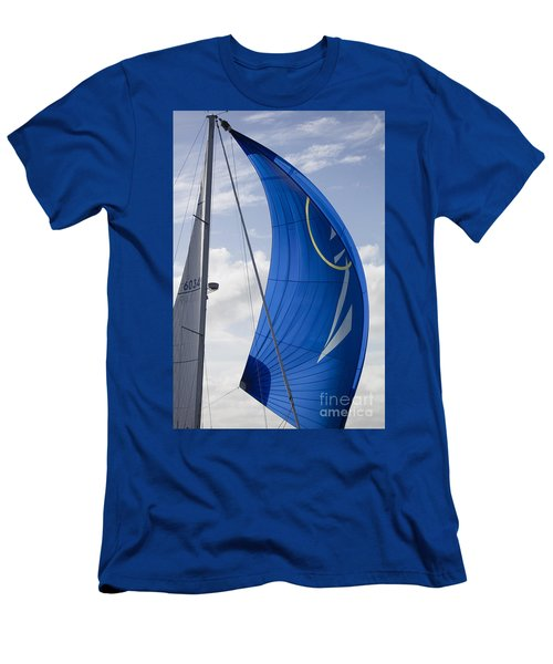 Blue Spinnaker Sy Alexandria Men's T-Shirt (Athletic Fit)