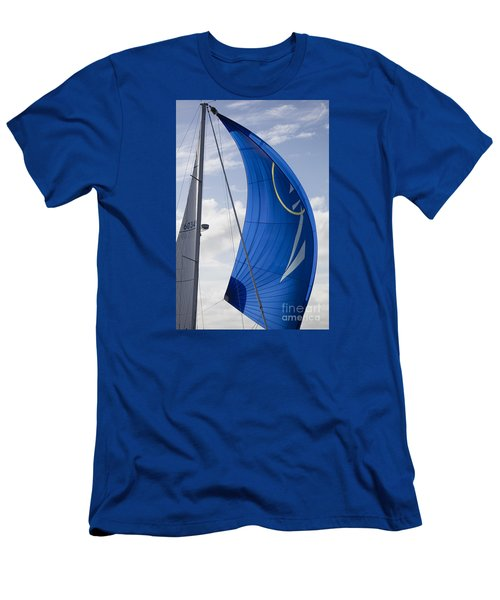 Blue Spinnaker Sy Alexandria Men's T-Shirt (Athletic Fit)