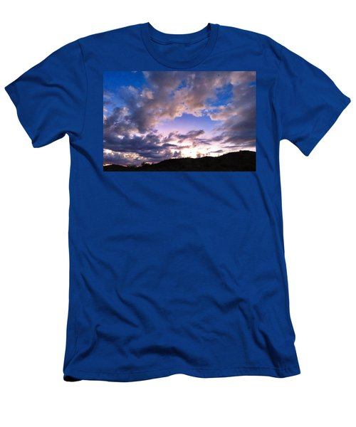 Blue Sunset Men's T-Shirt (Athletic Fit)
