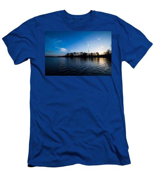Blue Water Men's T-Shirt (Athletic Fit)