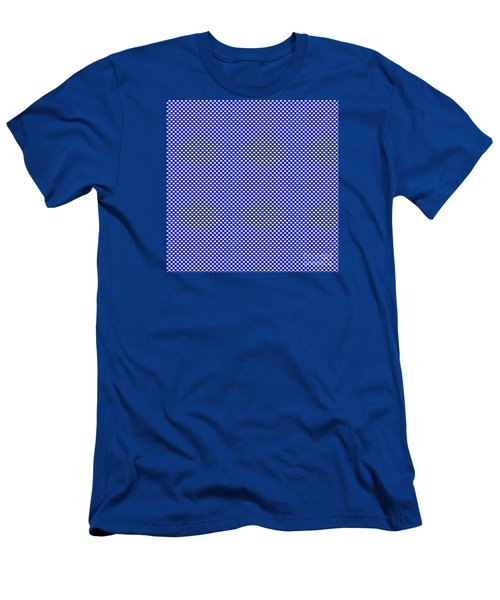 Blue Weave Men's T-Shirt (Athletic Fit)