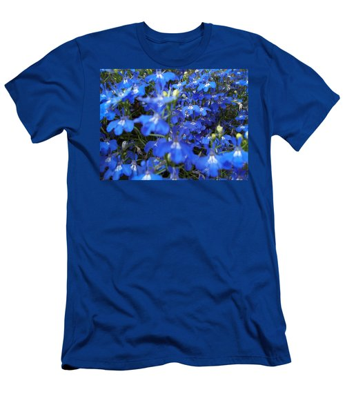Bluer Than Blue Men's T-Shirt (Athletic Fit)
