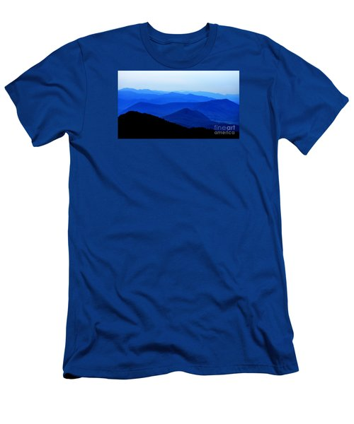 Blueridge Mountains - Parkway View Men's T-Shirt (Slim Fit) by Scott Cameron