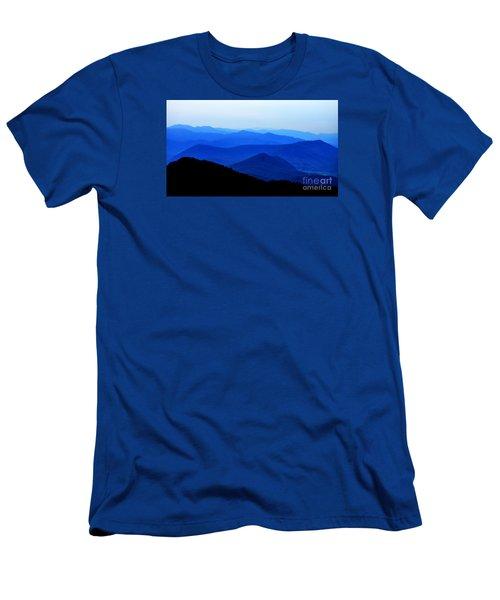 Blueridge Mountains - Parkway View Men's T-Shirt (Athletic Fit)