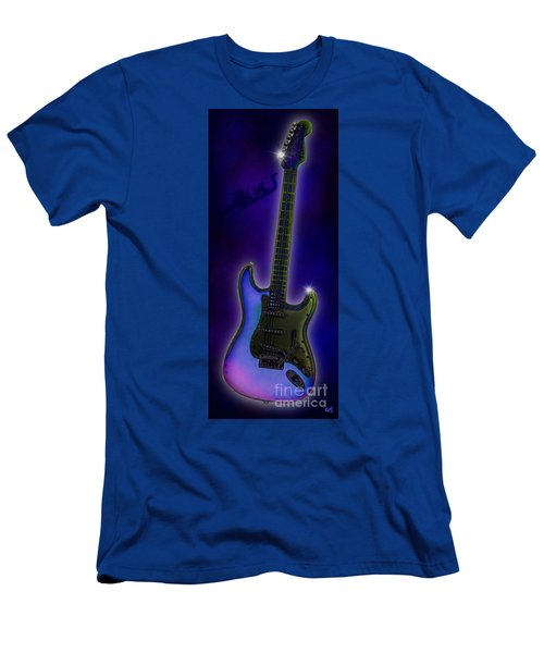 Men's T-Shirt (Slim Fit) featuring the digital art Blues  by Nick Gustafson
