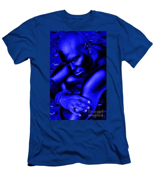 Blues Men's T-Shirt (Slim Fit) by Tbone Oliver