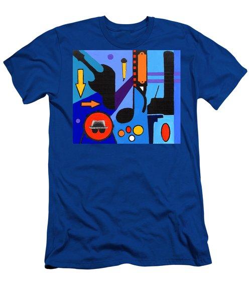 Blues1 Men's T-Shirt (Athletic Fit)