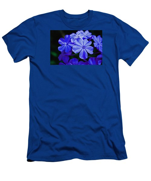 Blue Beauty Men's T-Shirt (Athletic Fit)