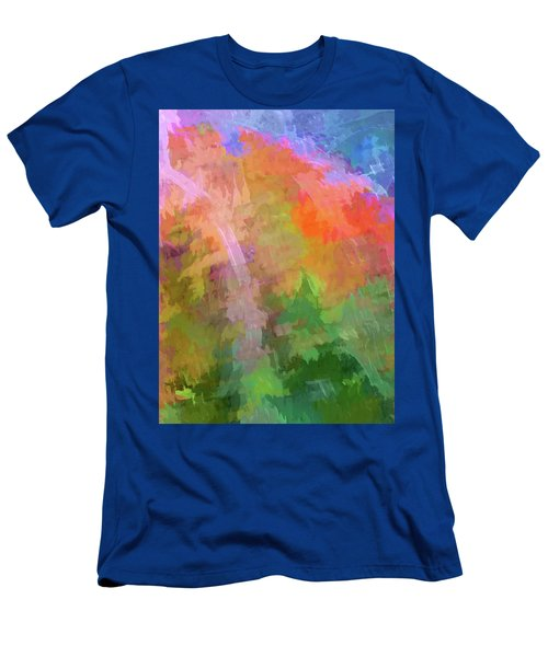 Blurry Painting Men's T-Shirt (Athletic Fit)