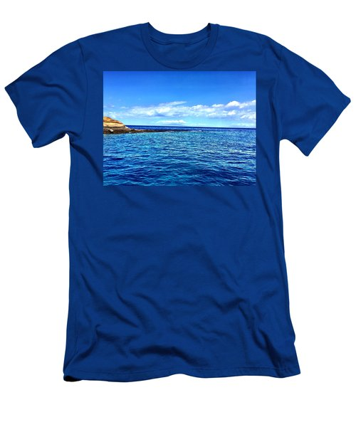 Boat Life 1 Men's T-Shirt (Slim Fit) by Michael Albright