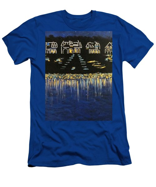 Boathouse Row Men's T-Shirt (Athletic Fit)